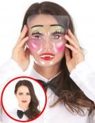 Opgemaakte vrouw masker voor volwassenen