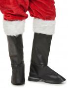 Luxe Kerstman overlaarzen voor volwassenen