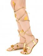 Romeinse sandalen met touw voor vrouwen