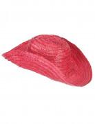 Rood cowboy hoed voor volwassenen