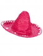 Roze sombrero hoed voor volwassenen