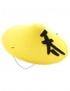 Gele Chinese hoed voor volwassenen