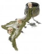 Halloween decoratieset met ketel