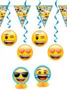 Emoji™ smileys decoratie set