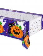 Plastic pompoen Halloween tafelkleed