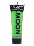Fluo groene fosforescerende gel voor lichaam en gezicht