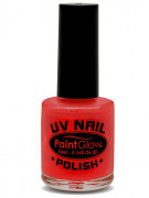 UV rode nagellak