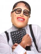 Latex nerd masker voor volwassenen