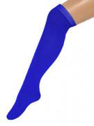 Blauwe kniekousen voor volwassenen