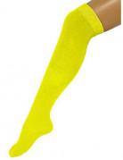 Gele kniekousen voor volwassenen