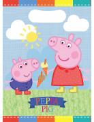 Set 8 Peppa Pig™ feestzakjes