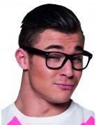 4 paar zwarte brillen voor volwassenen