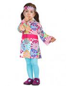 Veelkleurig hippie kostuum met stippen voor baby