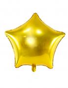 Goudkleurige ster folie ballon 45 cm