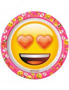 8 kartonnen bordjes Emoji™
