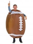 Opblaasbaar rugbybal kostuum voor volwassenen