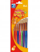 8 kleurrijke Lefranc & Bourgeois® penselen