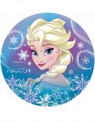 Elsa Frozen™ eetbare taartversiering