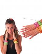 Fluo groene armband voor volwassenen