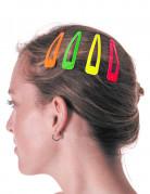 4 gekleurde haarspelden
