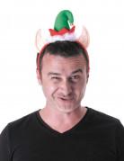 Kerst elf haarband voor volwassenen