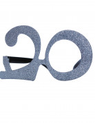 20 jaar glitter bril