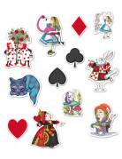 12 Alice in magieland decoraties