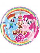 8 kartonnen My Little Pony™ borden