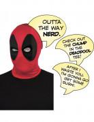 Luxe Deadpool™ kap met tekstballonnen