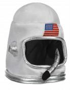 Zilverkleurige astronaut helm voor kinderen
