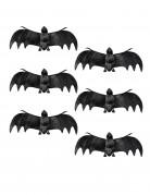 6 vleermuis decoraties