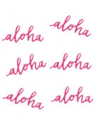 6 Aloha tafeldecoraties
