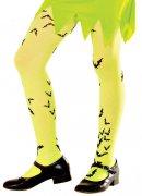 Fluo gele panty voor kinderen
