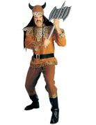 Luipaard viking kostuum voor mannen