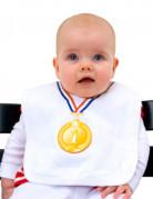 Medaille slabbetje voor baby