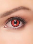 Rode en zwarte contactlenzen voor volwassenen