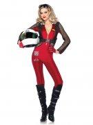 Sexy race coureur kostuum voor vrouwen