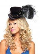 Steampunk mini hoge hoed voor volwassenen