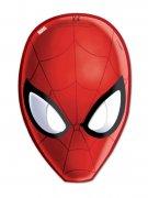 Set van 6 rode Spiderman maskers