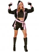 Sexy bokskampioen kostuum voor vrouwen