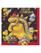 20 papieren Super Mario™ servetten