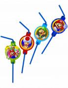 8 Super Mario™ plastic rietjes