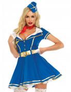 Sexy stewardess kostuum voor vrouwen