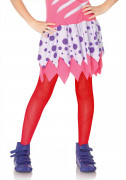 Rode netstof legging voor kinderen