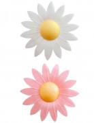 8 eetbare bloemen taart decoraties