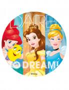 Eetbare schijf Disney™ prinsessen