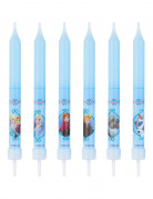 8 Frozen™ verjaardagskaarsen