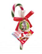 Kerstmis suikerstok met stuiterbal
