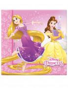 20 papieren Disney Princesses™ servetten