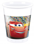 8 plastic Cars 3™ bekers